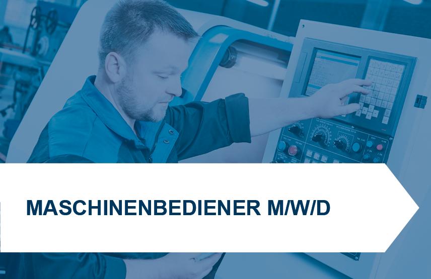 Maschinenbediener/-in